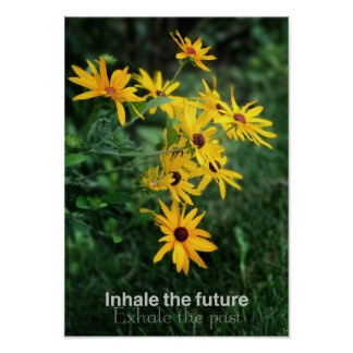 Inhale the Future Poster