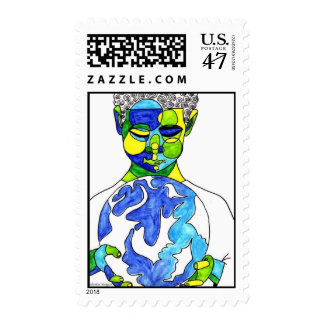 Inherit The Earth Stamp