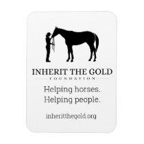 Inherit the Gold Foundation Logo Magnet