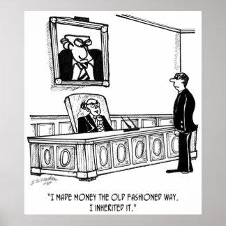 Inheritance Cartoon 2461 Poster