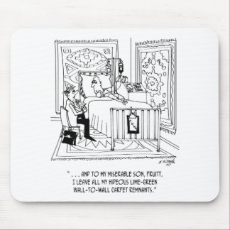 Inheritance Cartoon 4489 Mouse Pad