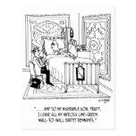 Inheritance Cartoon 4489 Postcard