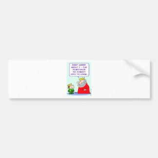 inheritance tax apply kings bumper sticker
