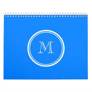 Inicial coloreada parte alta del monograma de Azur Calendario