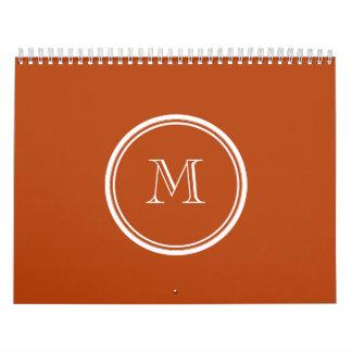 Inicial coloreada parte alta del monograma del moh calendarios