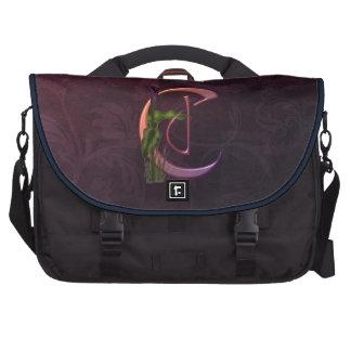 Inicial colorida C de la cala Bolsas De Portatil