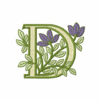 Inicial D del monograma de la flor