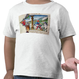 Inicial L de Historiated Camisetas
