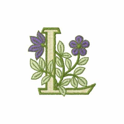 Inicial L del monograma de la flor