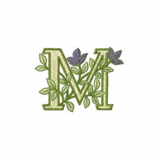 Inicial M del monograma de la flor