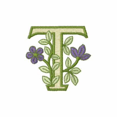 Inicial T del monograma de la flor