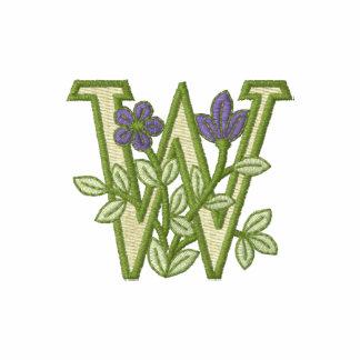 Inicial W del monograma de la flor