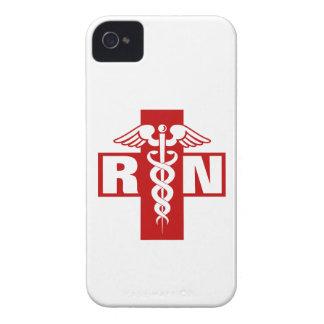 Iniciales de la enfermera iPhone 4 coberturas