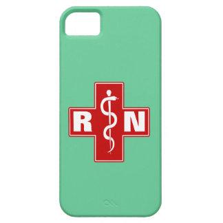 Iniciales de la enfermera iPhone 5 funda