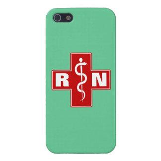 Iniciales de la enfermera iPhone 5 fundas