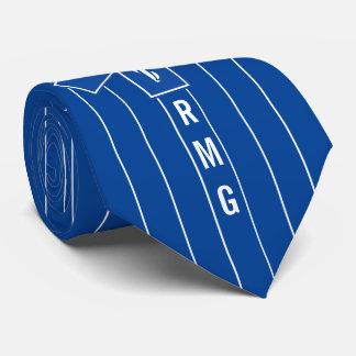 Iniciales del personalizado del símbolo del corbata personalizada