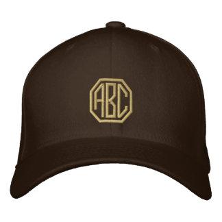 Iniciales personalizadas monograma del bordado gorras de béisbol bordadas
