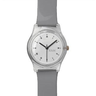 Iniciales personalizadas reloj de mano