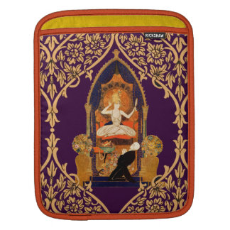 Inidan Altar Woman Man Love Worship Decoration Sleeve For iPads