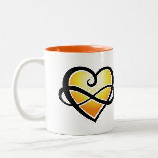 Inifnite Love Two-Tone Coffee Mug
