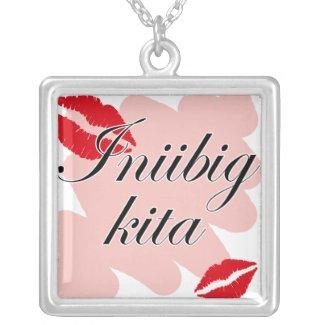 Iniibig kita - Filipino I love you necklace