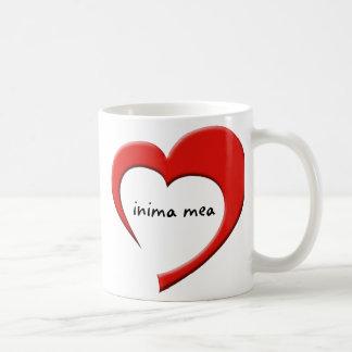 Inima Mea II mug (red)