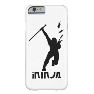 iNinja - White - Barely There iPhone 6 Case