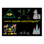 INIQUITY Cards Business Cards