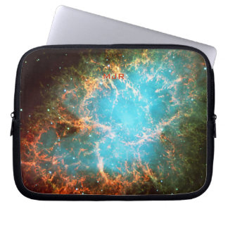 Initalled Crab Nebula in Taurus Laptop Sleeve
