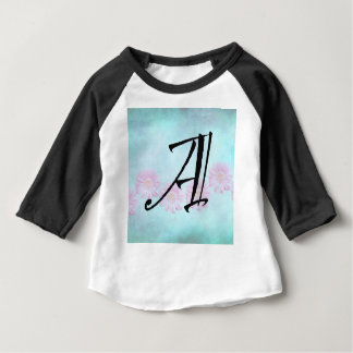 Initial A Baby T-Shirt