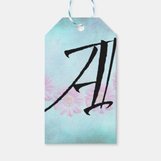 Initial A Gift Tags