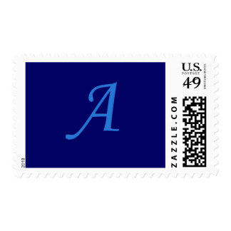 Initial A Postage