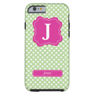 Initial and Name Tough iPhone 6 Case