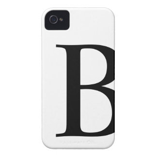 Initial B iPhone 4/4S Barely There Case Case-Mate iPhone 4 Case
