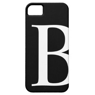 Initial B iPhone 5 Barely There Case iPhone 5 Cases