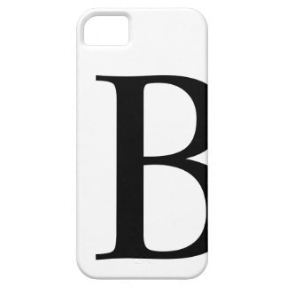Initial B iPhone 5 Barely There Case iPhone 5 Case