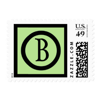 Initial B Stamp - Customized