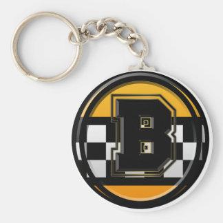 Initial B taxi driver Keychain