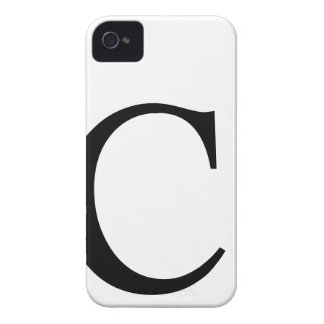 Initial C iPhone 4/4S Barely There Case iPhone 4 Case