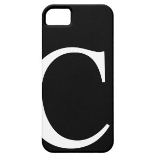 Initial C iPhone 5 Barely There Case iPhone 5 Cases