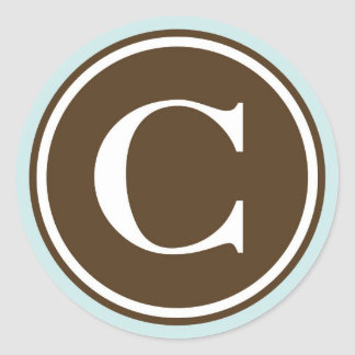 Letter c stickers zazzle for Letter c stickers