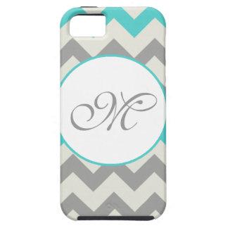 Initial Chevron iPhone Case iPhone 5 Cover