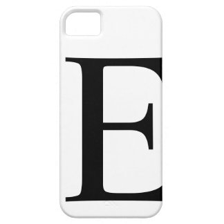 Initial E iPhone 5 Barely There Case iPhone 5 Cases