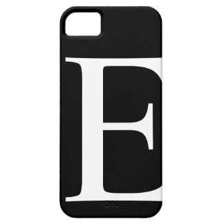 Initial E iPhone 5 Barely There Case iPhone 5 Covers