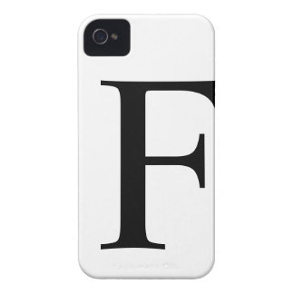 Initial F iPhone 4/4S Barely There Case iPhone 4 Case-Mate Cases