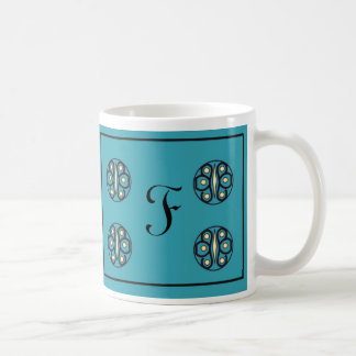 "Initial ""F"" Mug"