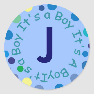 Initial G Can Be Changed by You Be - Customized Round Stickers