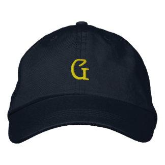 """INITIAL """"G"""" Designer Cap"""
