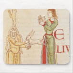 Initial 'H' in the form of two conjurors Mouse Pad