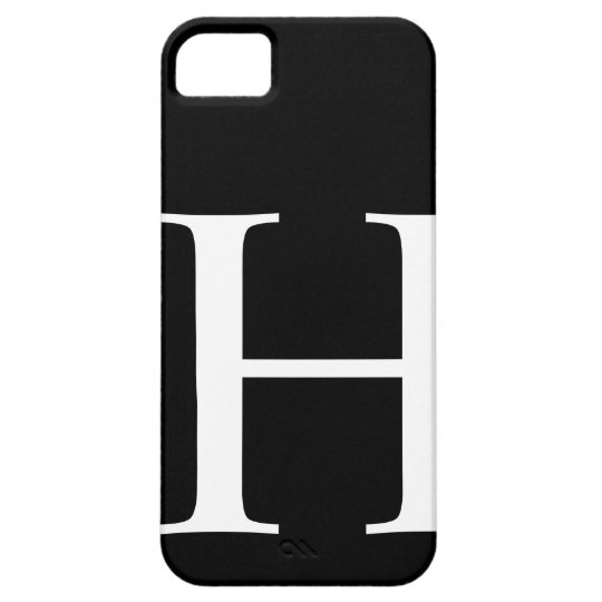 Initial H iPhone SE/5/5s Case